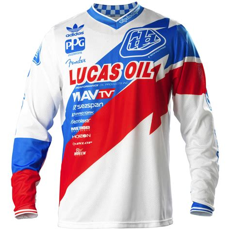design jersey motocross troy lee designs new tld mx gear gp air astro team white