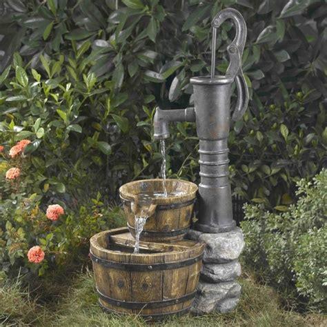 water pump water fountain fresh garden decor