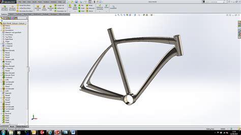 solidworks tutorial bike modelling a bike the frame