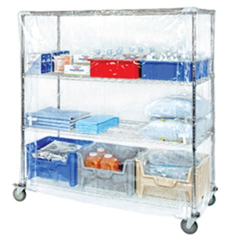wire shelving carts covers quantum storage