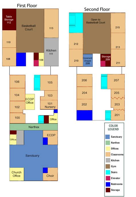 fellowship hall floor plans education covenant united church floor plan