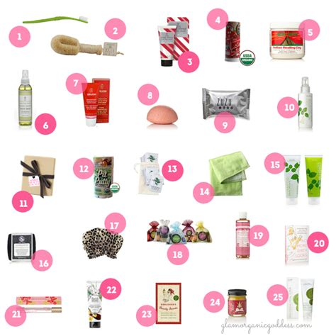 stocking stuffers gift guide 50 green glam stocking stuffers for 2013