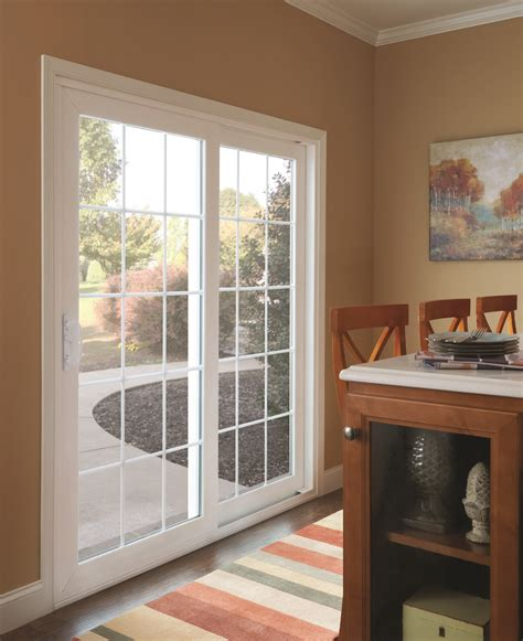 dining room doors sliding colonial patio door simonton windows doors