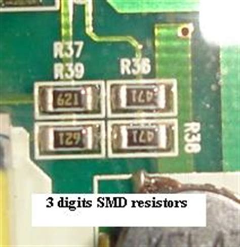 how to identify smd resistors types of resistors potentiometer varistor rheostat