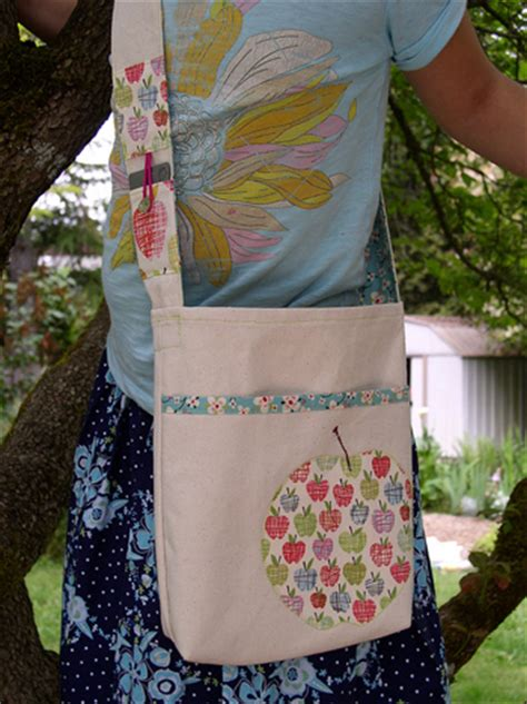 sewing pattern library bag how to library tote bag make