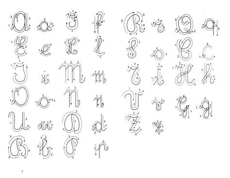 lettere in corsivo per corsivo inglese e corsivo italico 6inradio