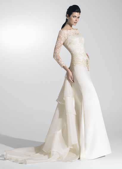 raimon bundo wedding dresses 2011 exclusive wedding dress with soft color style raimon