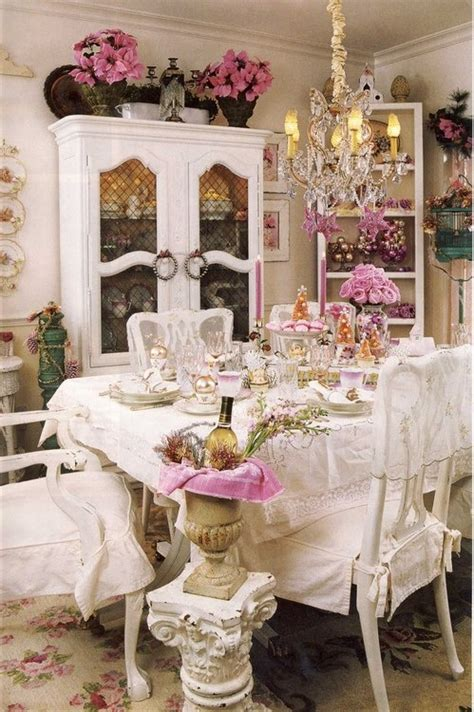 romantic home decor 39 beautiful shabby chic dining room design ideas digsdigs