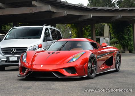koenigsegg california koenigsegg regera spotted in california on 08 20 2016
