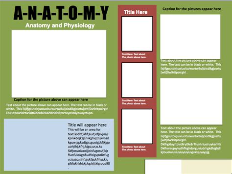 informative poster template informational poster template design 1