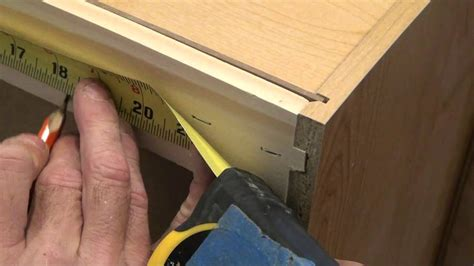 mounting kitchen cabinets wall cabinet mounting techniques youtube