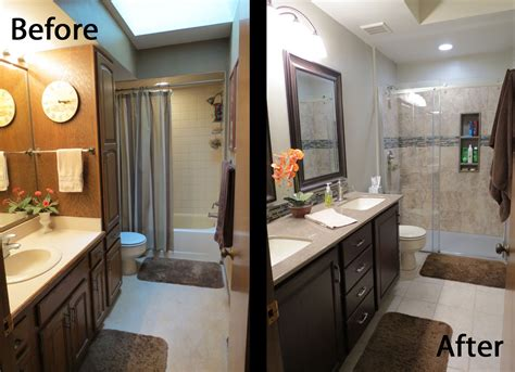 the klar family before and after master bathroom remodel dippity dot