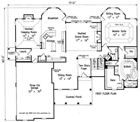 frank betz floor plans fenway home plans and house plans by frank betz