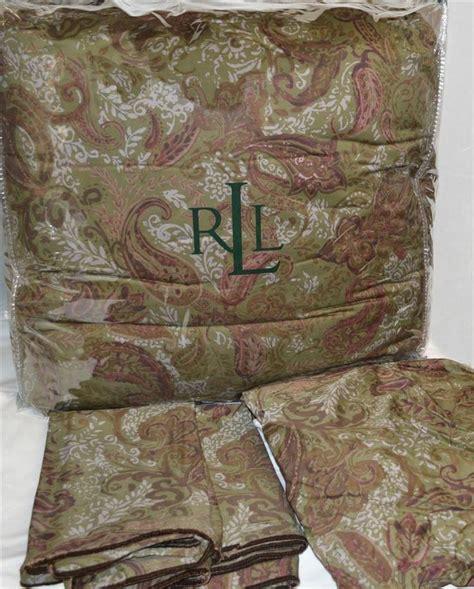 ralph lauren hayden paisley houndstooth king comforter