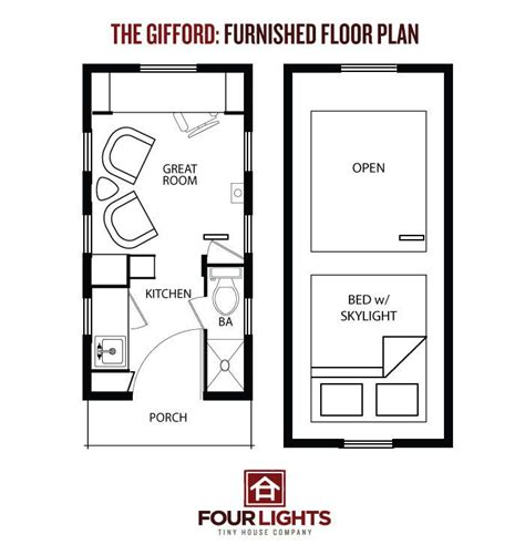 Four Lights Tiny House Plans 10 Best The Gifford Images On Small Homes