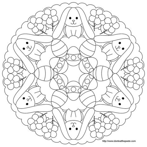 preschool easter egg mandala coloring 4 171 funnycrafts 122 best images about mandala coloring pages on pinterest