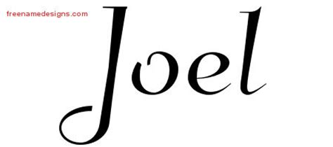 tattoo name joel joel archives page 2 of 3 free name designs