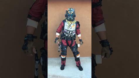 titanfall  pilot full suit   elite  costume