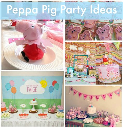 printable peppa pig party decorations playful peppa pig party ideas
