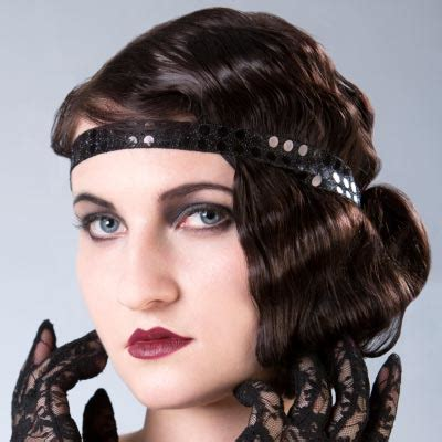 gatsby short hairstyle 1920s hairstyles from great gatsby and downton abbey