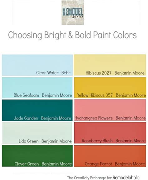 how to paint fast and bold simple techniques for expressive painting books remodelaholic decorating with bold colors