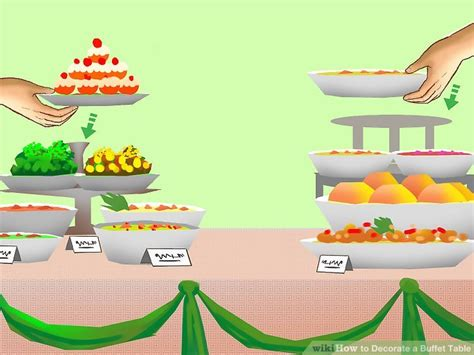 How To Decorate A Buffet Table Pictures