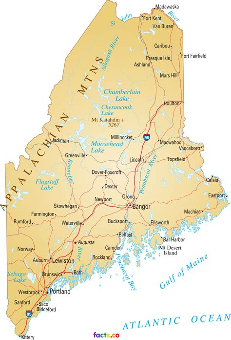 map maine maine map blank political maine map with cities