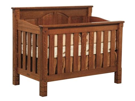 Amish West Lake Convertible Crib Amish Baby Crib