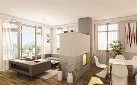 wohnung modern wohnzimmer gestalten schwarz weis kreative deko ideen