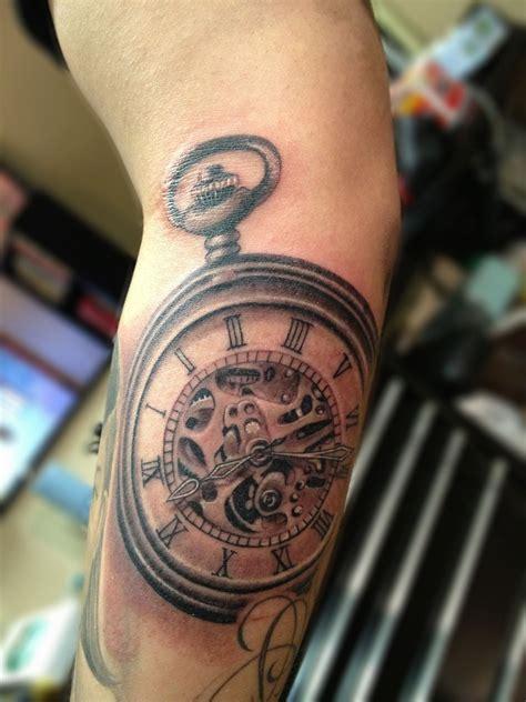what does a clock tattoo symbolize pocket compass pocket tattoos designs