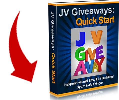 Jv Giveaways - jv giveaway quick start landing offer page