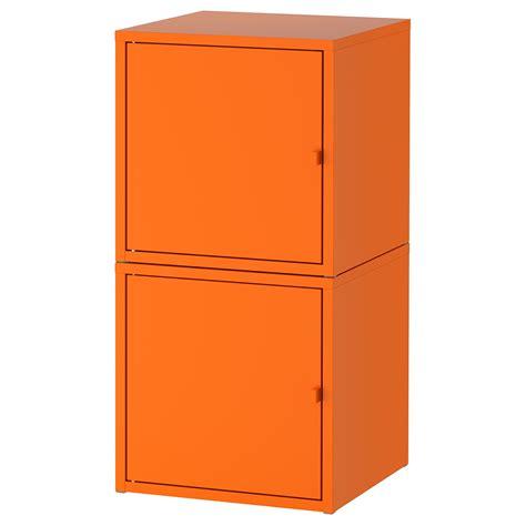 Ikea Storage Combination by Lixhult Storage Combination Orange Orange 35 X 70 Cm Ikea