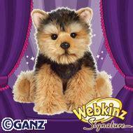 webkinz signature yorkie yorkie stuffed animals terrier plush toys at