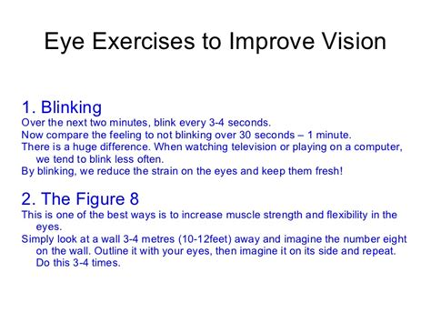 better vision eye exercises to improve vision