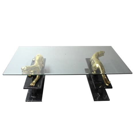 panther coffee table maison jansen interior boutiques