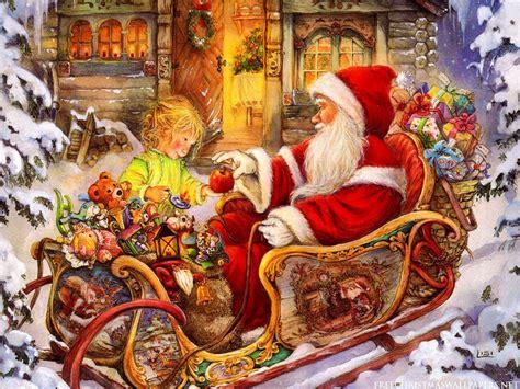 santa s christmas santa claus wallpaper hd pictures one hd