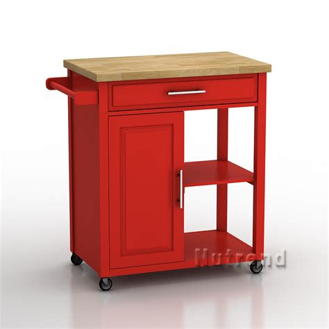 red kitchen island wooden red kitchen trolley kitchen island cart buy