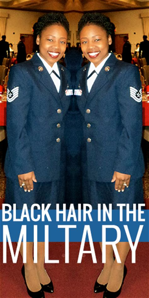 women hair in the air force black hair in the military blackhairkitchen