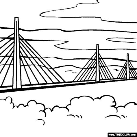 printable coloring pages golden gate bridge gate