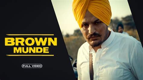 brown munde official video ap dhillon sidhu moose wala