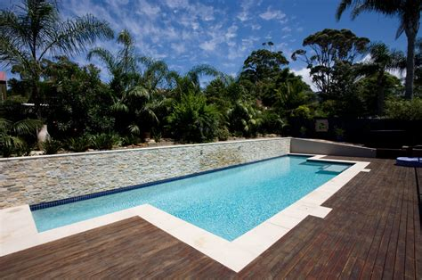 Inground Lap Pool | in ground lap pool beacon hill crystal pools