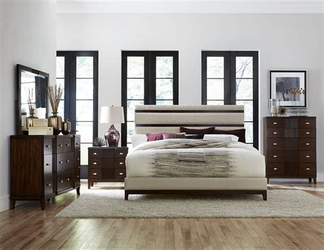 las vegas bedroom furniture pelmar dark walnut finish bedroom collection las vegas
