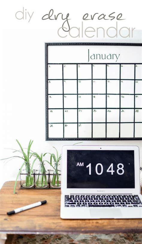 Diy Erase Calendar Diy Erase Calendar Silhouette Creators Challenge
