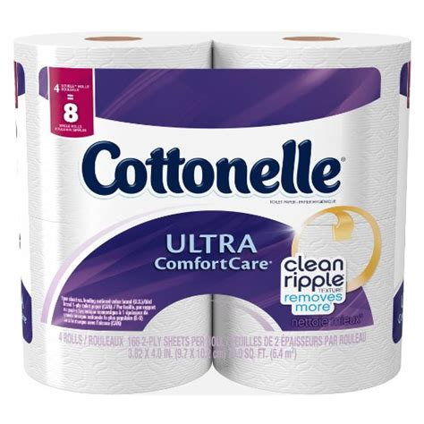 Comfort Care Only by Cottonelle Ultra Comfort Care Toilet Paper Only 0 19 Roll