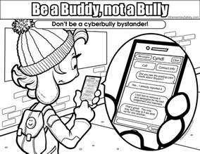anti bullying color anti bullying activities coloring pages