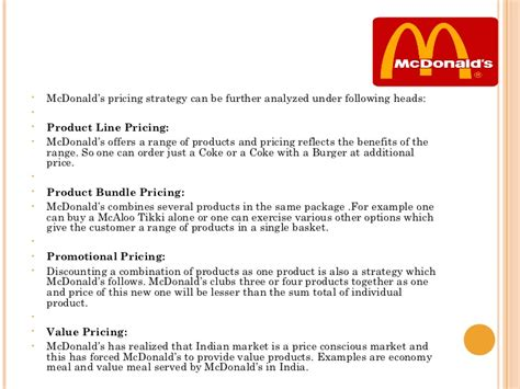 layout strategy for mcdonalds mc donalds ppt