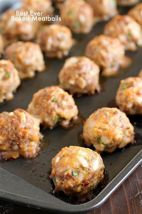best meatball recipe best easy baked meatballs healthy easy