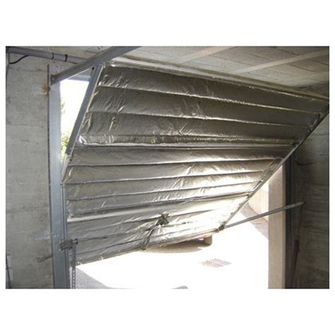 isolant pour garage isolant mince kit pour porte de garage 2 x 2 4m toiture