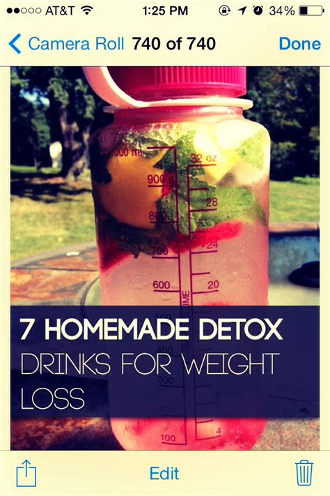7 Day Weight Loss Detox Drink by Seven Detox Drinks For Weight Loss Trusper