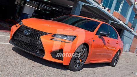 gsf lexus orange lexus gs f orange molten pearl